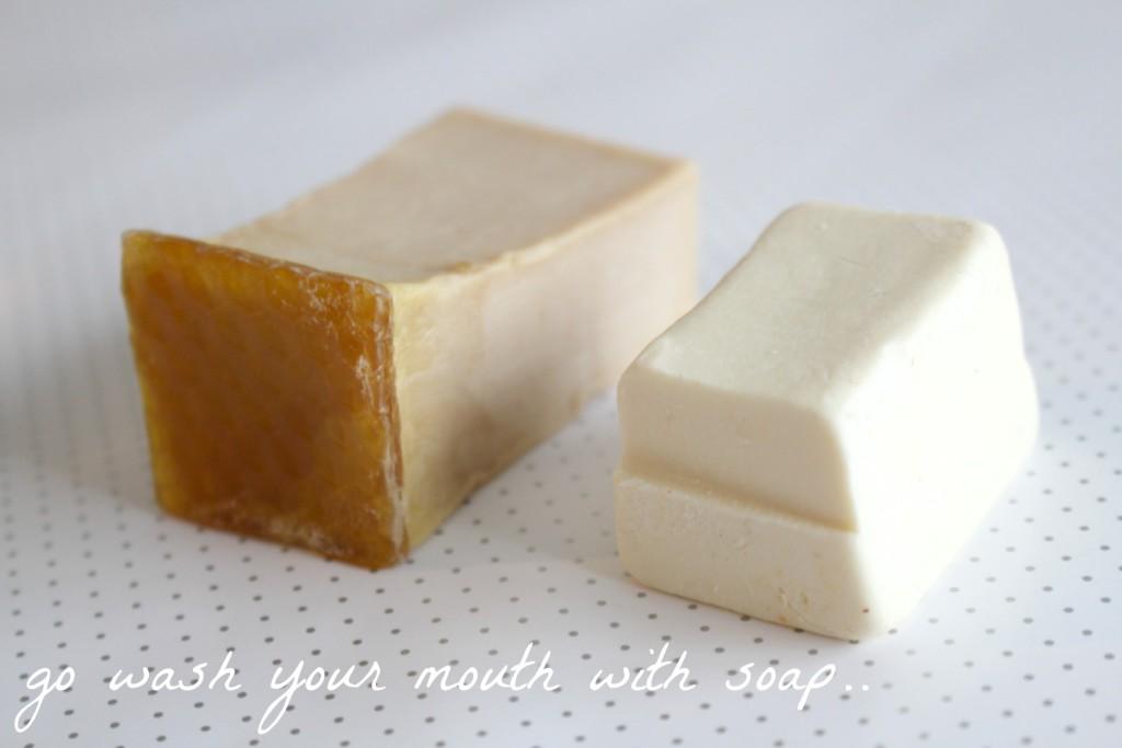 honeyiwashedthekids soapquote