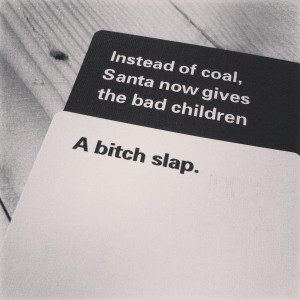 Cards against
